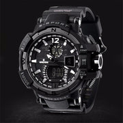 New Hot Fashion H Some Wise Amazing Wonderful Men's Rubber B LED Digital Sports Waterproof Diving Quartz Wrist Watch P*21