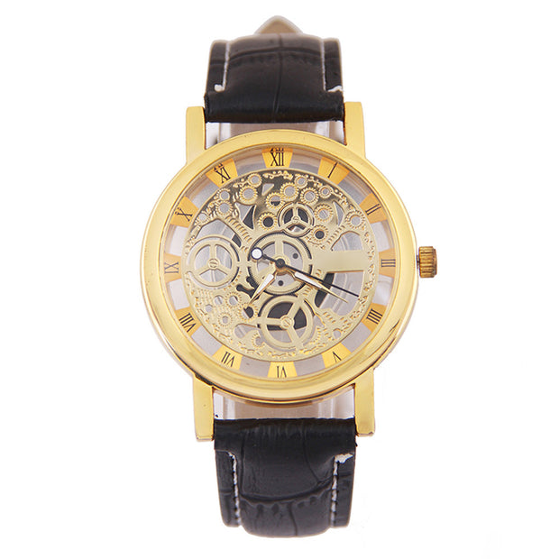 New Hot Fashionable Handsome Wise Practical And Amazing Classical Wonderful Men Mechanical Gear Watch /