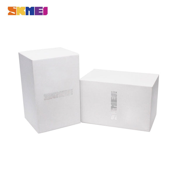 New Original SKMEI Brand Watch Box White Good Quality Protect Watches For Gift Boxes Caixa De Relogio
