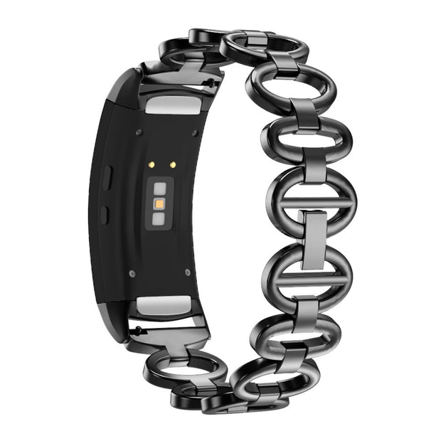 New Watch Band Stainless Chain Bracelet Smart Watch Band Strap For Sansung Gear Fit 2/ Fit 2Pro Good Quality Watch Strap