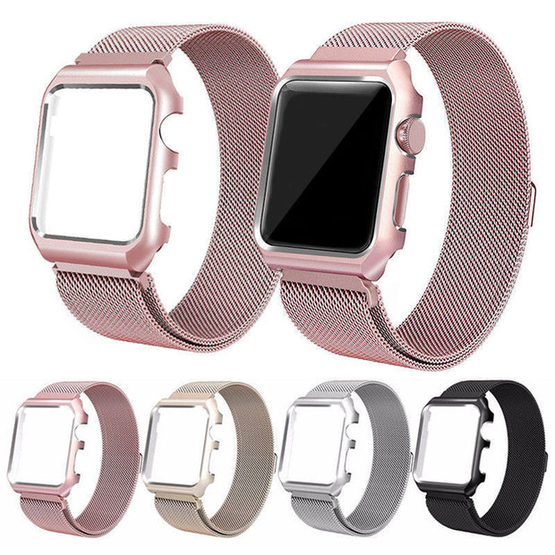 New Watchbands For Iwatch Series 1/2/3 Milanese Loop Bracelet Stainless Steel Band For Apple Watch Series 3/2/1 38/42mm