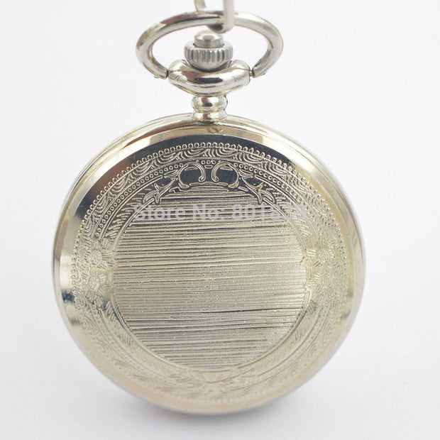 New Promotional Discounts MEN'S QUARTZ POCKET WATCH XMAS GIFT Arabic Numerals Watch For Women
