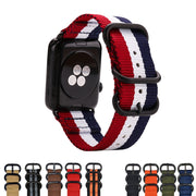 Nylon Band Strap Watchband For Apple Watch Band Series 3/2/1 Sport Bracelet 42 Mm 38 Mm For Iwatch Band
