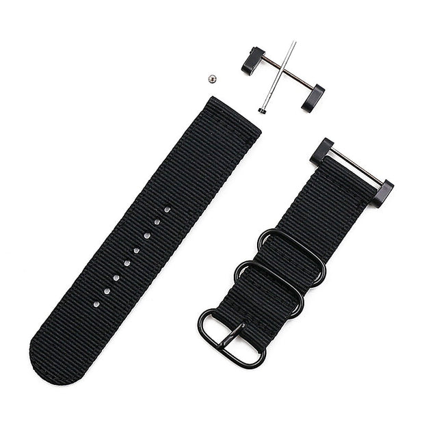 Nylon Strap Men's Watch Accessories Pin Buckle For Suunto Core Strap 24mm Outdoor Sports Waterproof Female Bracelet Watch Band