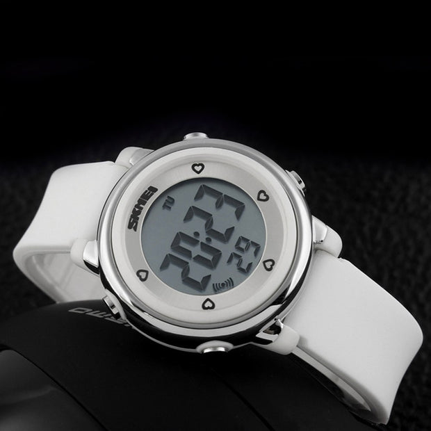 Outdoor Sports Kids LED Alarm Digital Watch Stopwatch Children's Wristwatch Dames Horloges