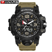 PANARS 2018 Men Outdoor Sport Watch Waterproof Digital LED G Male Shock Military Electronic Wrist Watches Relogio Masculino