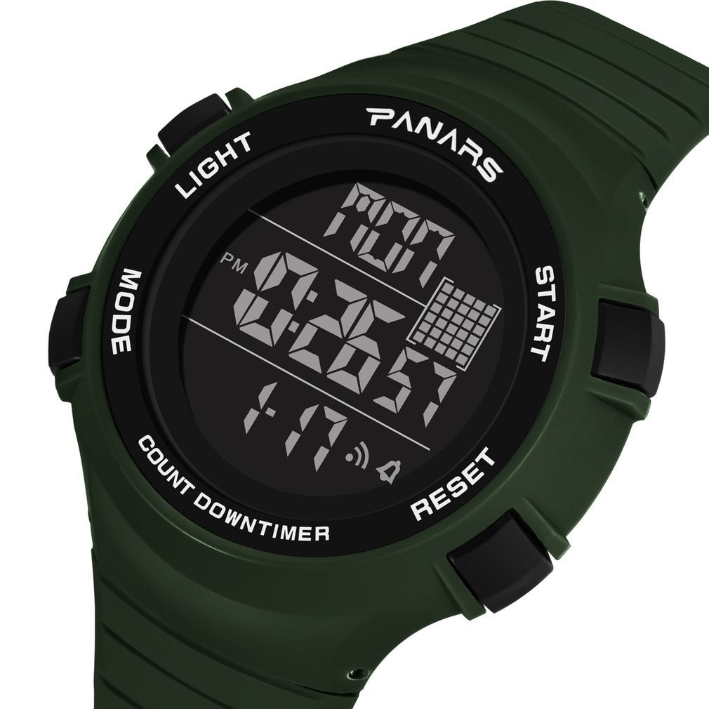 Panars Muti-functional Compass Outdoor Digital Watch Male Electronic Compass Waterproof Watch Smart Bracelet Cheap Sales Men's Watches Watches
