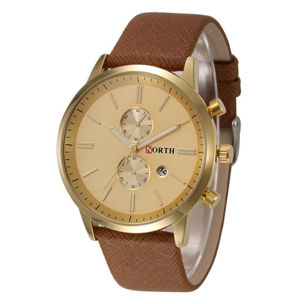 Paradise 2017 Hot! Charming Fashion Slim Genuine Leather Band Analog Quartz Watches Wrist Watch Wholesale Apr15
