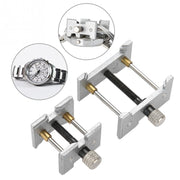 Professional 2 In 1 Watch Movement Holder Vice Clamp Adjustable Watch Case Repair Tool Watchmaker Repair Watch Tools Kit