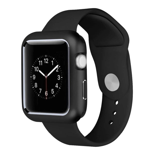 Protective Case For Apple Watch Band 4 44mm 40mm Correa Iwatch Series 4 3 2 1 42mm 38mm Magnetic Adsorption Technology Aluminum