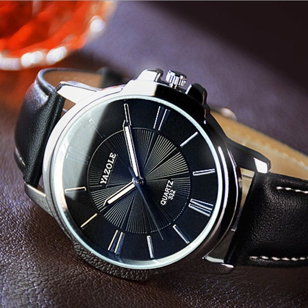 Quartz Watches Men Luxury Brand Famous Leather Wristwatches For Men Waterproof Casual Fashion Business Sport Watch Male Clock