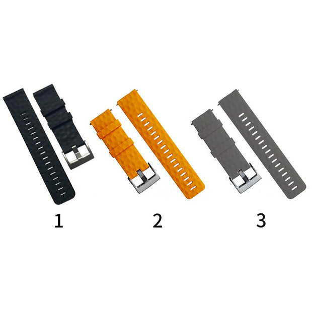 Quick Release Adjustable Lightweight Strap Flexible Watch Band Soft Pin Buckle Durable Replacement Silicone For Spartan Baro
