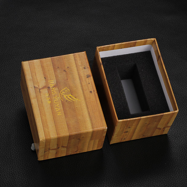Rectangle Shaped Gift Box Packing For Wooden Wristwatches Watches Boxes