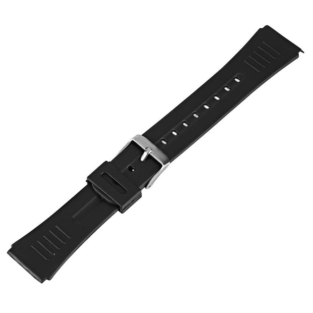Replacement Bracelet Watch Strap Band Diving Pin Buckle Soft Outdoor Military Silicone Sport Waterproof 22mm Black