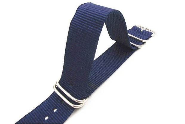 Ring Buckle - 1PCS High Quality 22MM Nylon Watch Band NATO Waterproof Watch Strap Fashion Wach Band - 5 Colors Available -3224