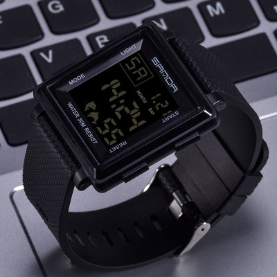 SANDA Sport Watch Men Top Brand Luxury Electronic Wristwatch LED Digital Wrist Watches For Man Clock Male Hours Hodinky Relog