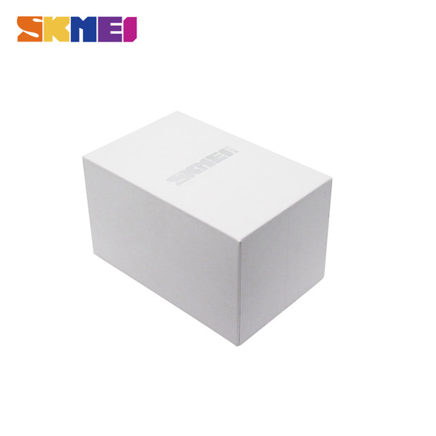 SKMEI 100% Original White Watch Box Good Quality Protect Watches For Gift Boxes Fashion Brand Gift Case Caixa De Relogio