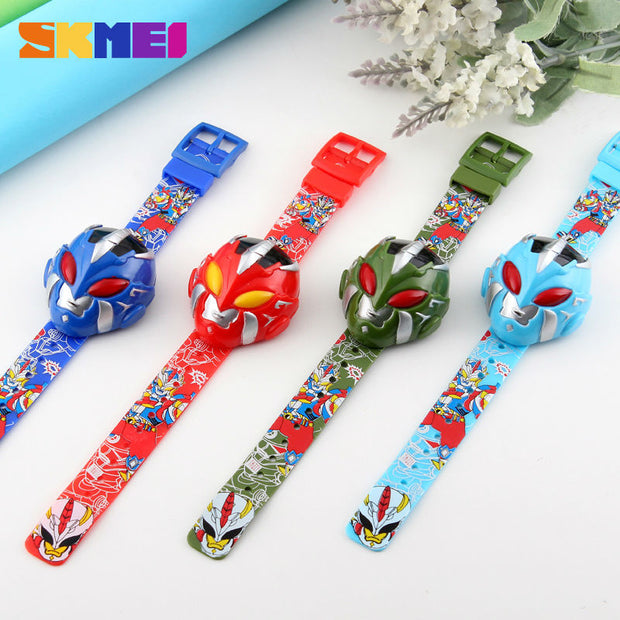 SKMEI Sport Cartoon Kids Watches Children Digital New Design Wristwatches Fashion Creative Children Watch Montre Enfant 1239