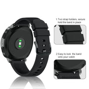 Silicone Bands For Samsung Gear S2 Classic Smart Watch Band Black Metal Buckle Strap For Samsung Gear Sports 20 Mm High Quality