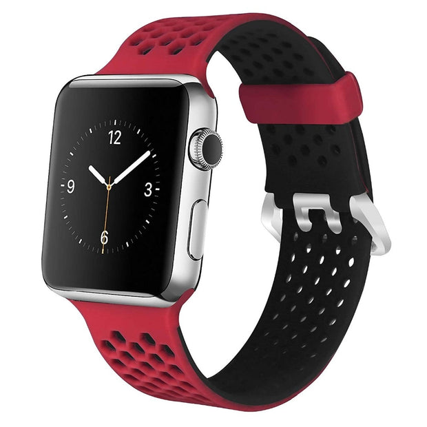 Silicone Sport Band For Apple Watch Band 44mm 40mm Correa 42mm 38mm Bracelet Watchband Wristband Belt Iwatch Series 4 3 2 1
