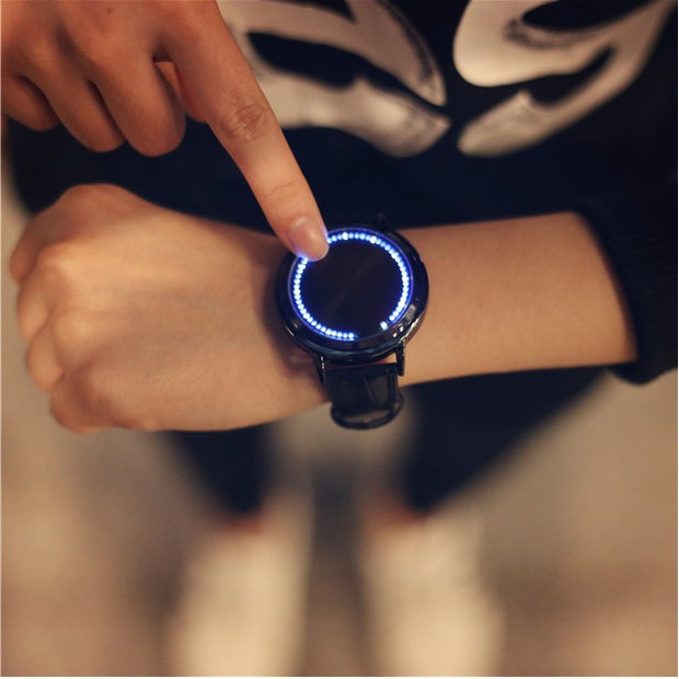 Smart Electronics LED Display Fashion Digital Relojes Inteligentes 2018 Creative Watch Relogio Feminino Casual Ethnic Watches