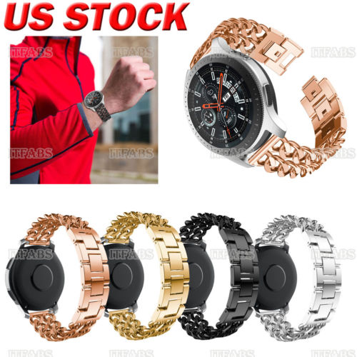 Stainless Steel Strap Metal Watch Band For Samsung Gear S3 Frontier S3 Classic Unisex Cool Watchbands