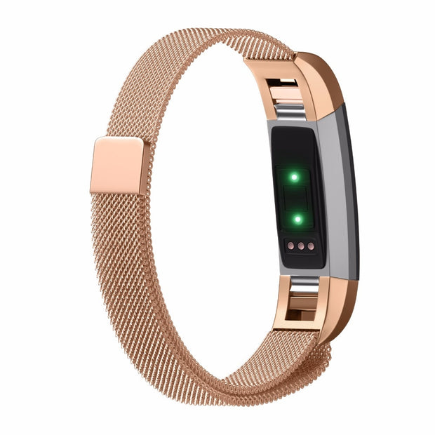 Stainless Steel Strap For Fitbit Alta Watch Band Milanese Magnetic For Fitbit Alta HR Replacement Wristband Metal Band