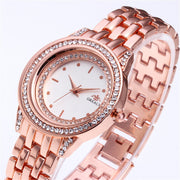 Steel Belt Watch Fashion Women Watches Ladies Rhinestone Case Wristwatch Clock Relogio Feminino Reloj Mujer Bayan Kol Saati