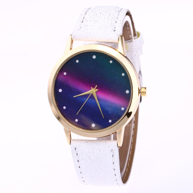 Timer New Wristwatch For Women PU Leather Quartz Relogio Feminino Women Watch Montre Femme