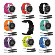 Tschick Quick Release Silicone Watch Bands, Rubber Watch Replacement Band Strap For SUUNTO CORE