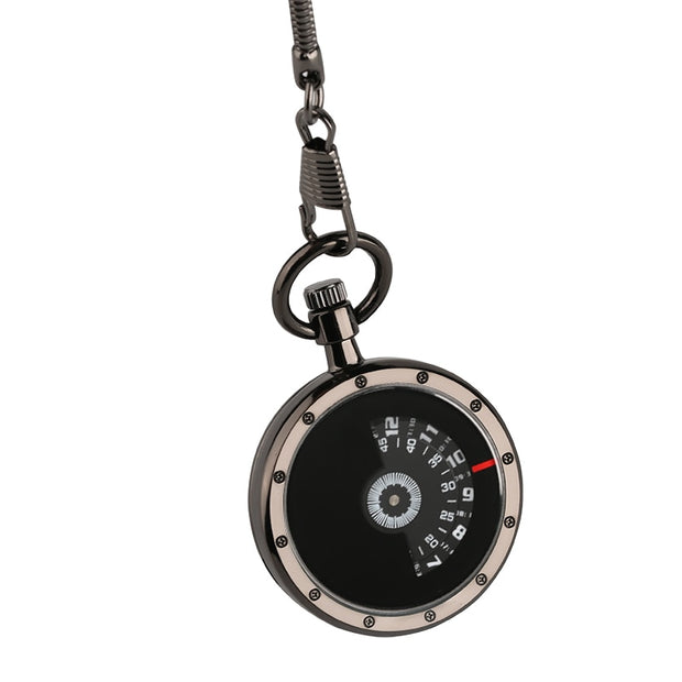 Vintage Fashion Charm Unisex Fashion Roman Number Quartz Steampunk Pocket Watch Women Man Necklace Pendant With Chain Gifts