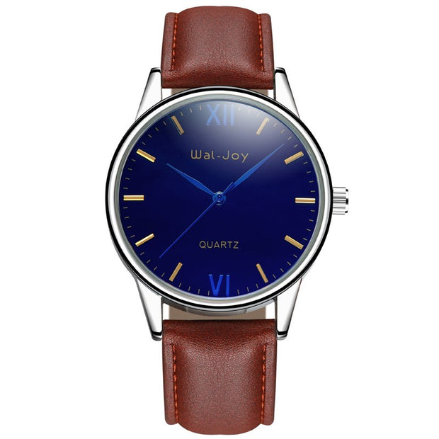 Brownstrap blackdial