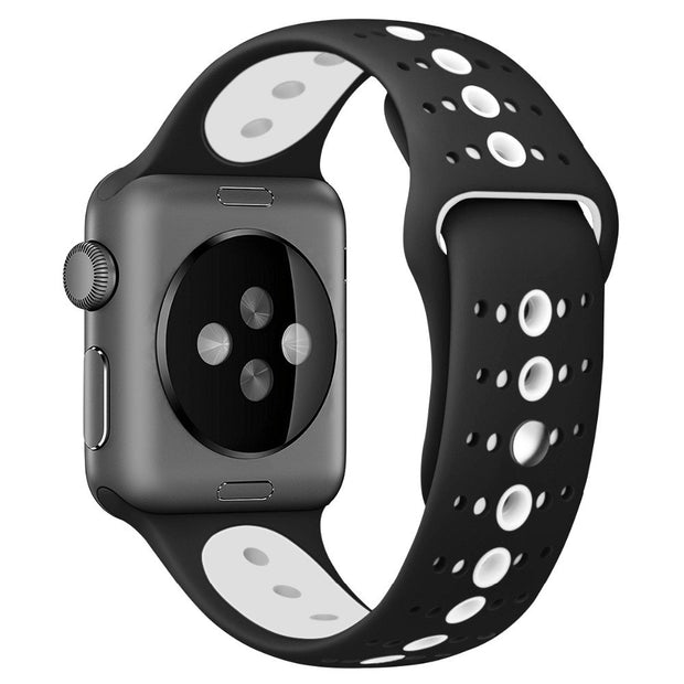 Watch Accessories Watch Strap For Apple Watch Band 42mm 38mm Series 3 2 1 Sport Silicone Wristband Straps For Iwatch Belt