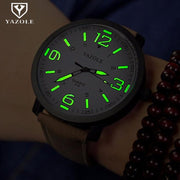 Watch Men YAZOLE Brand Luxury Fashion Sports Watches Luminous Male Clock Quartz Watch Hour Montre Drop Ships Relogio Masculino