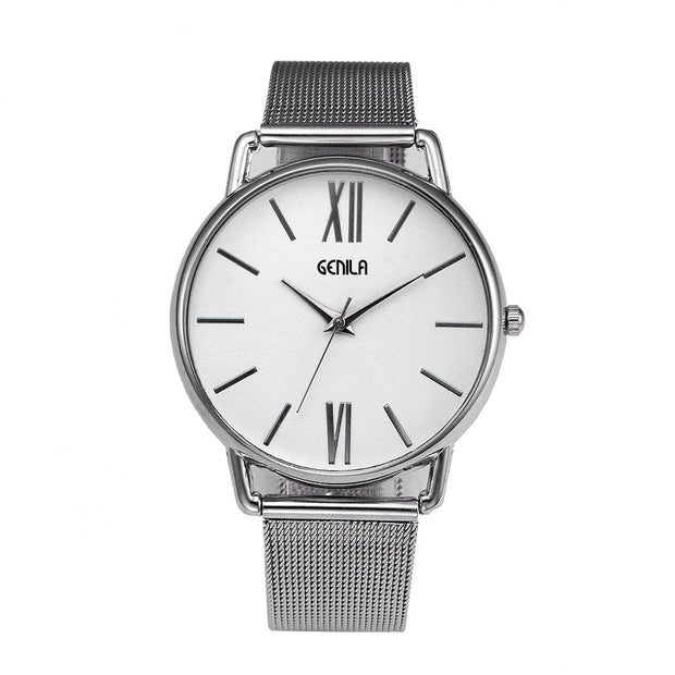 Watch Women Watches Fashion Classic Quartz Stainless Steel Elegance Wrist Watch Relogio Feminino Masculino Saat Christmas Gift