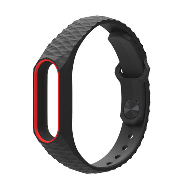 Watch Strap For Xiaomi Mi Band 2 Durable Replacement TPU Anti-off Wristband For Xiaomi Mi Band 2 Anti-shedding Wrist Strap