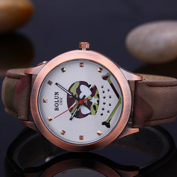 Watches Women Quartz Watch Ladies Leather Watches Rose Gold Dial Girls New Fashion Clock Gifts Drop Shipping