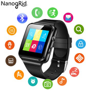 X6 Smart Watch With Camera Touch Screen Support SIM TF Card Fitness Tracker Bluetooth Smartwatch For IPhone Xiaomi Android Phone