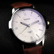 YAZOLE Business Quartz Watch Men Top Brand Luxury Famous New Wrist Watches For Men Clock Male Wristwatch Hours Relogio Masculino