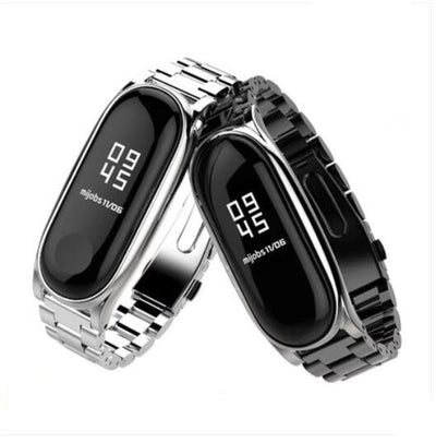 YIFALIAN Strap For Xiaomi Mi Band 3 2 Screwless Bracelet For MiBand 3 2 Band Replace For Mi Band 2 3 Metal Bands