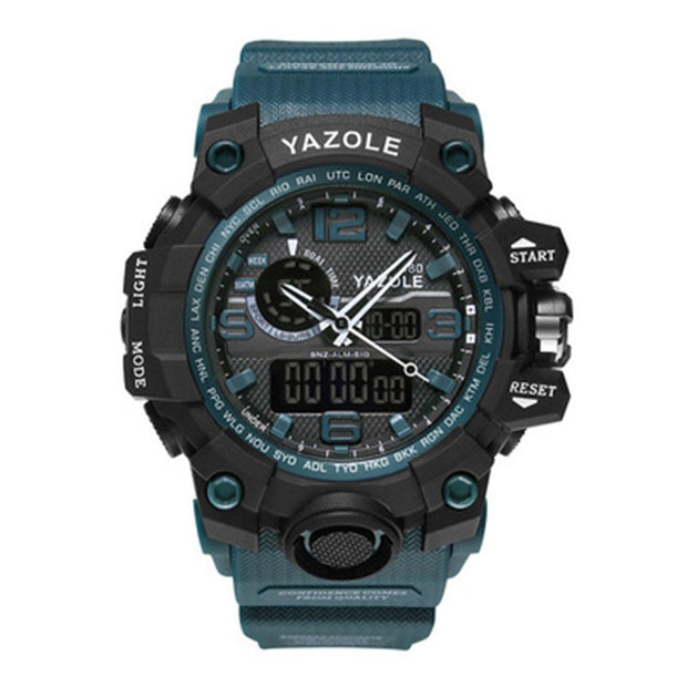 Yazole 480 Men's Watches Luminous Digital Watch Men Watch Calendar 30m Waterproof Sport Wristwatches For Men Relogio Masculino