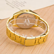 Brand Luxury Diamond Crystal Fashion Quartz Watches Men Women Dress Gift Gold Stainless Steel Relogio Masculino Orologio Uomo