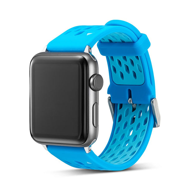 For Apple Watch 4 40MM 44MM Soft Silicone Double Color Watchband Strap Bracelet Sport Watch Band For Iwatch Series 3/2 38mm 42mm