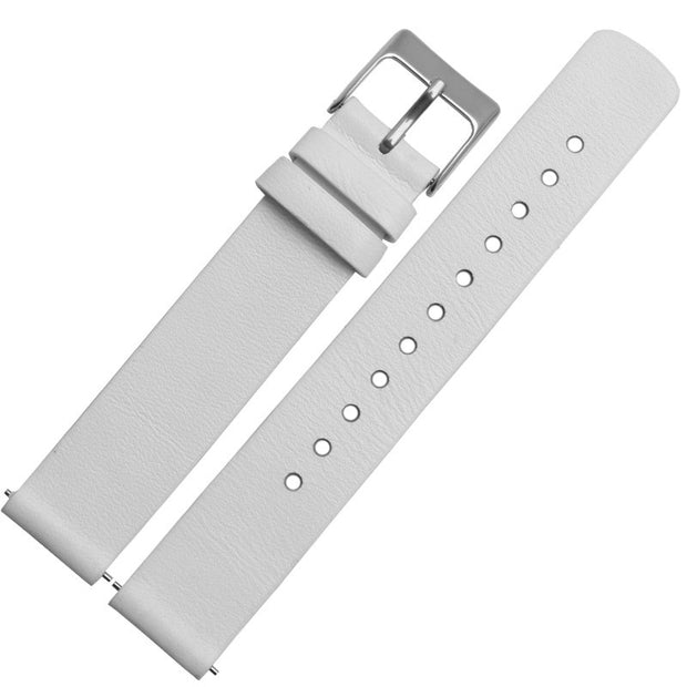 White silver buckle