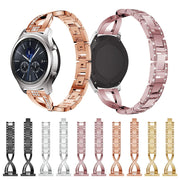 Watch Strap Stainless Steel Strap Rose Gold Luxury Replacement Watch Band For Samsung Gear S3 Wrist Watches Strap 2018 New Gift