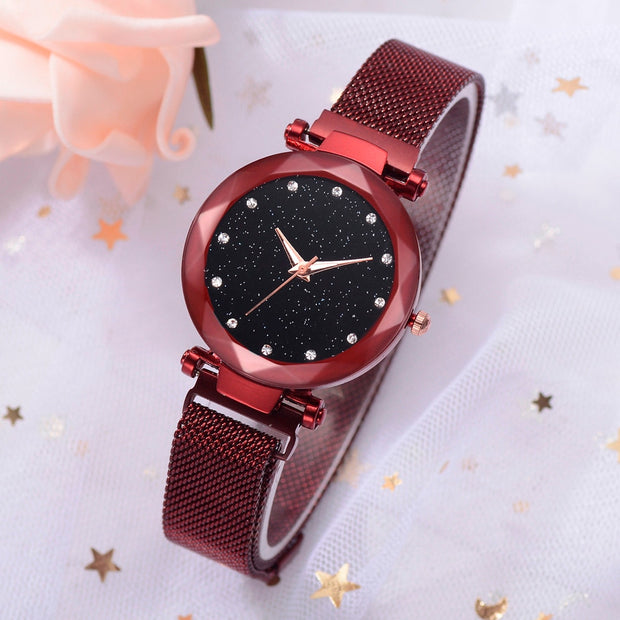 Women Watches With Bracelet For Women Stainless Steel Top Brand Luxury Clock Small Dial Rose Gold Relogio Feminino Dourado 2019