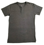 """Gray or Grey?"" Split Hem Henley - JJ Parrot"