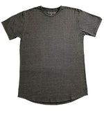 """Pencil Lead"" Grey Rounded Bottom Crew - JJ Parrot"