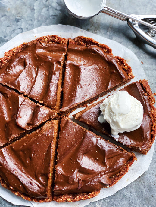 Chocolate Espresso Pudding Pie