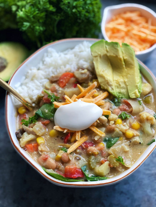 Southwest White Bean Chili